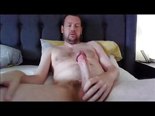 Another quick stroke and cum from cock...