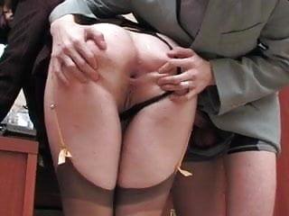 Bitch enjoys sex...