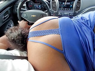 Sucking dick on highway part 1, part 2 is better