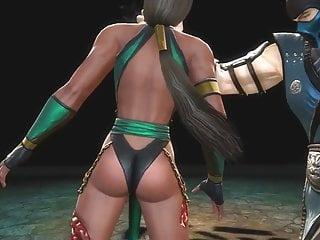 MK9 Jade vs Sub-zero Ryona in Freecam (3)