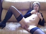 German MILF Plays With Cock Can,By Blondelover.