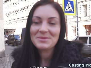 Alluring euro pounded at casting auditions