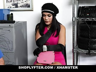 ShopLyfter - Big Tits Latina Shoplifter Blows Guard