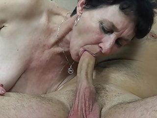 Feeble grandma wants a tough penis