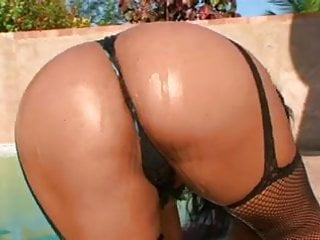Oiled Black Brazilian Booty2