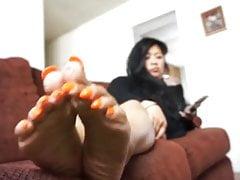 Asian wrinkled soles