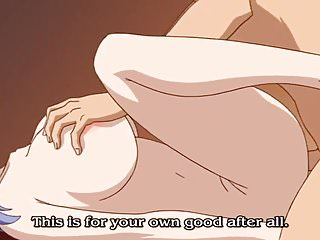 Hentaianime gives blowjob creampie...