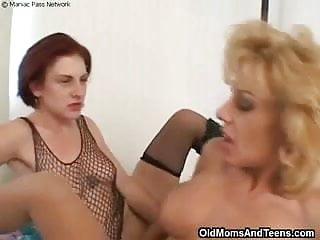 Lesbian pantyhose face-sitting
