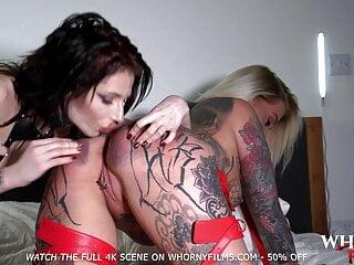 POV Threesome with hot lesbians fucked hard – WHORNYFILMS.COM