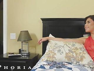 Biphoria latin bisexual couple seduce their handyman...