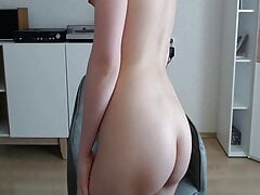 Anal – Fingering my tight hairy ass