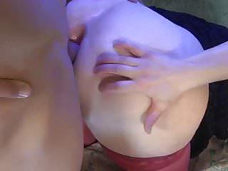 Fat russian mature slut loves hard creampie...