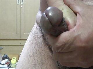 Naked Japanese cock erection