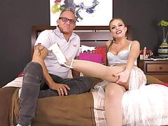 Big Tit Country Girl Masturbates Before Having Hardcore Sex