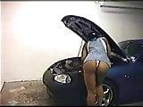 Angela Devi hot on car  FM14