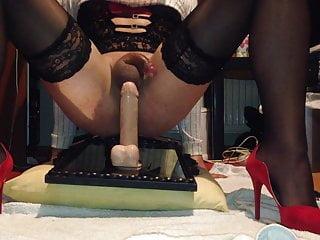 Hot crossdresser stockings fuck sexy...