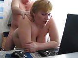 bbw mature fuck in office