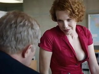 Hot redhead in Austrian 'Tatort'-episode
