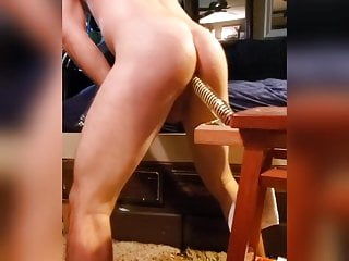 Only fans kingscruff hot hairy dildo anal fuck...