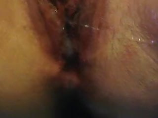My swollen wet pussy leaking cream pie