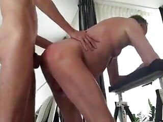 Daddy fucked by young man