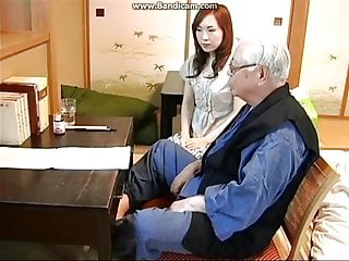 Young Japanese caregiver