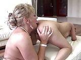 Mom teaching girl true lesbian love