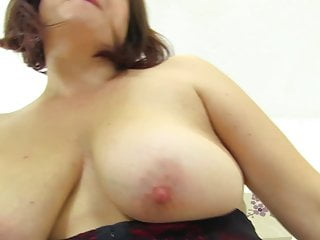 Chubby Real Mom Riding Her Favourite Dildo