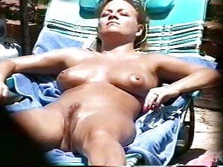 Sunbathing Nude