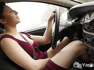 Yanks Mace Driving Jenny Orgasms While