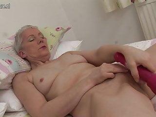 Hot British housewife masturbating