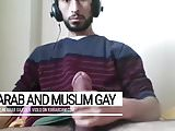 Arab gay Palestinian smoking gun