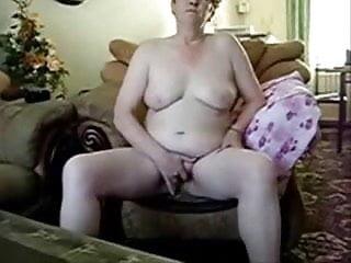 Totally naked masturbating...