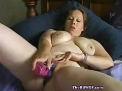 Horny Fat Chubby Teen loves her vibrator and orgasms-2