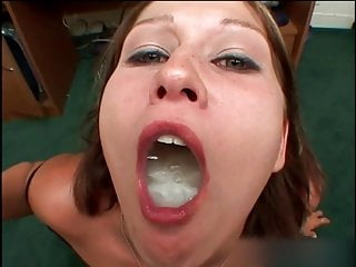 Sperm addict and swallowed 2...