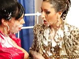 Kitty Jane and Alyssia Loop pegging