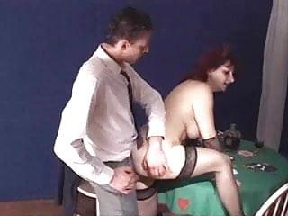 Hairy italian mature anal troia inculata takes hard...