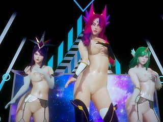 R18 MMD BlackPink – Dont Know What to do Hot Striptease