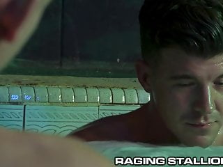 Ragingstallion roman todd amp jj knight hot tub...