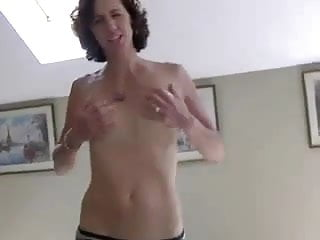 Wife undresses in amateur video