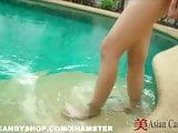 Thailand Bargirl Poolside Solo