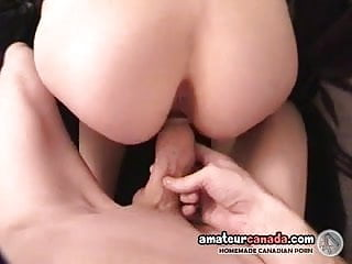 Geek amateur taking monster cock in homemade pov...