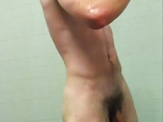 Hidden Cam- Hot University Student Taking A Shower