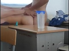 Horny Asian Amateur Teens In Classroom Quick Sex Tape Voyeur