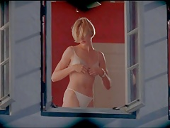 Cameron Diaz topless in a movie