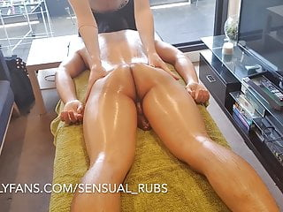 Cums inside me after erotic massage and fingers...