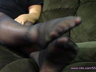 Melissa Hansen Pantyhose Foot Play