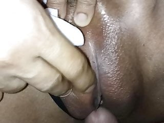 Asian wife gets an amazing creampie guy...