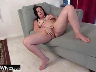 USAwives Alone Old Masturbation Compilation