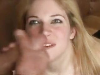 Blonde Swallows 10 Cumshots Facial Bukkake